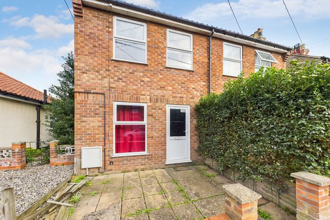 2 bed semi-detached house for sale in Vicarage Road, Thetford, Norfolk IP24