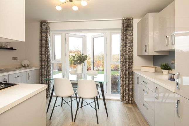 Kitchen Internal Of The Kenley Show Home At Birds Marsh View, Chippenham