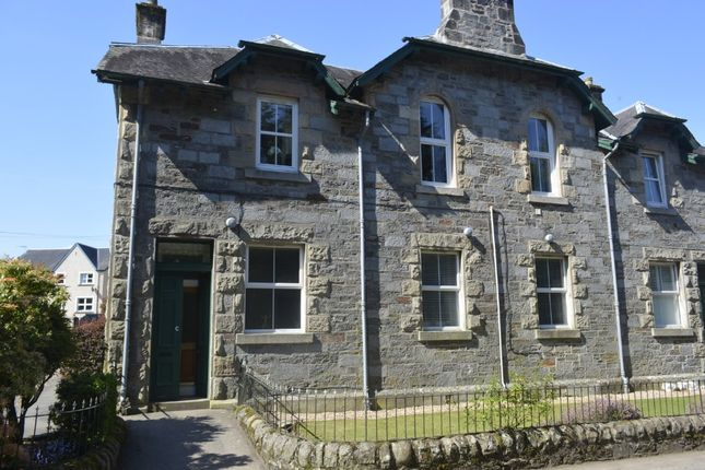Thumbnail Flat for sale in Lawers View, Lyon Road, Killin, Stirling