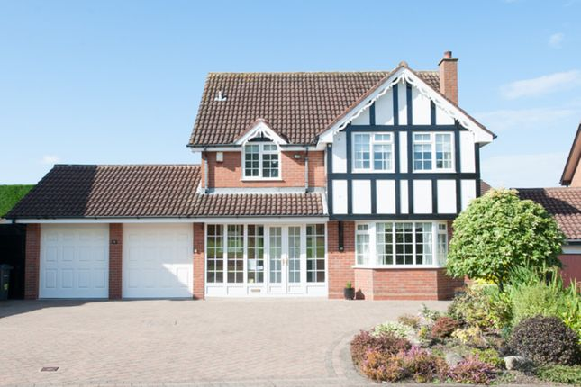 Thumbnail Detached house for sale in Vaughan Close, Four Oaks, Sutton Coldfield