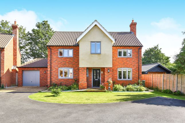 Thumbnail Detached house for sale in Mace Drive, Beeston, King's Lynn