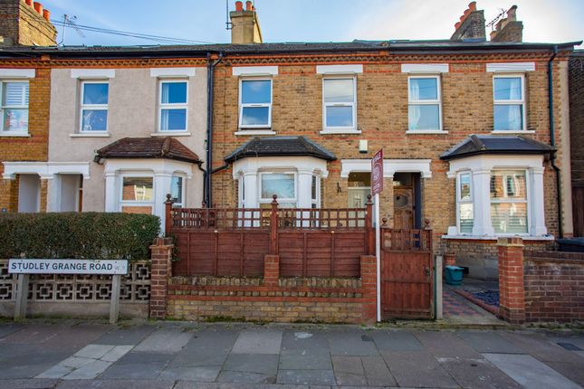 Thumbnail Terraced house for sale in Studley Grange Road, London