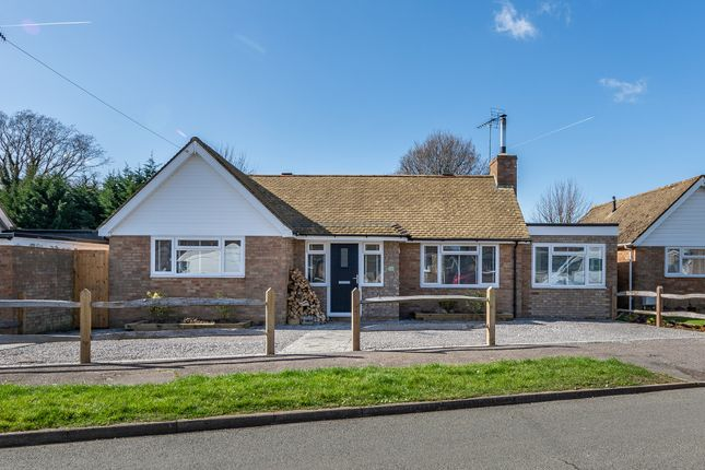 Thumbnail Detached bungalow for sale in Ivy Close, Westergate, Chichester