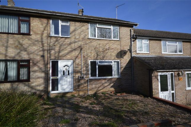 Thumbnail Terraced house for sale in Leewood Crescent, New Costessey, Norwich