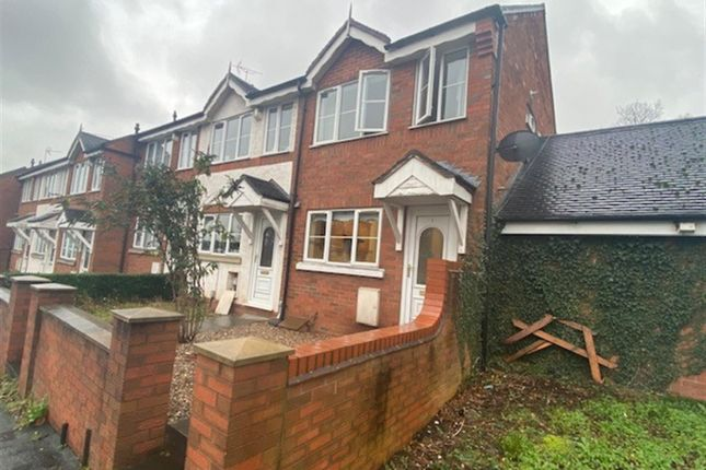 2 bed end terrace house to rent in St. Pauls Road, Rugeley WS15
