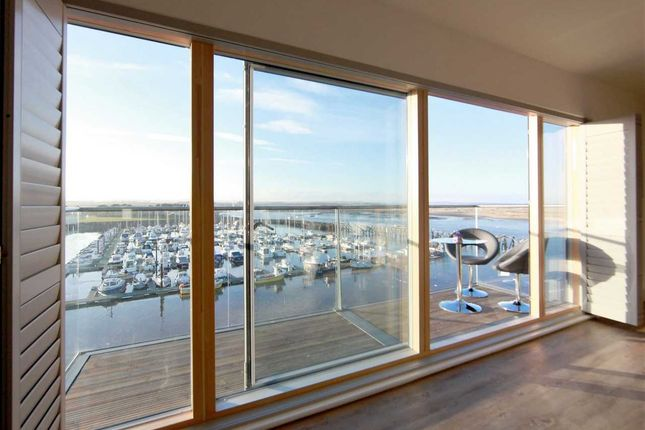 Thumbnail Flat for sale in 3 Coble Quay, Amble, On The Stunning Northumberland Coast