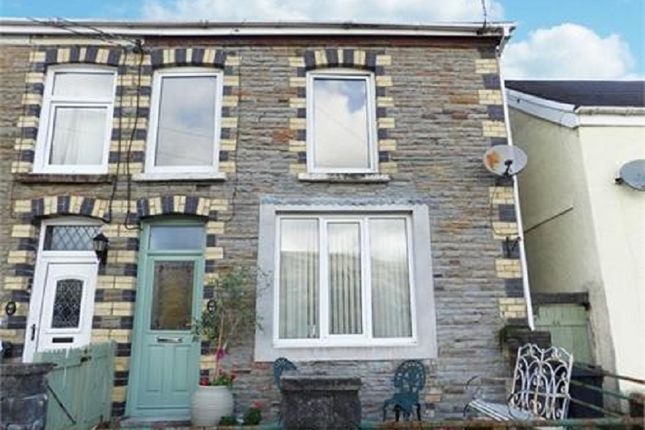Thumbnail End terrace house to rent in Gough Road, Ystalyfera, Swansea.