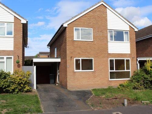 Thumbnail Detached house to rent in Sandown Close, Leamington Spa