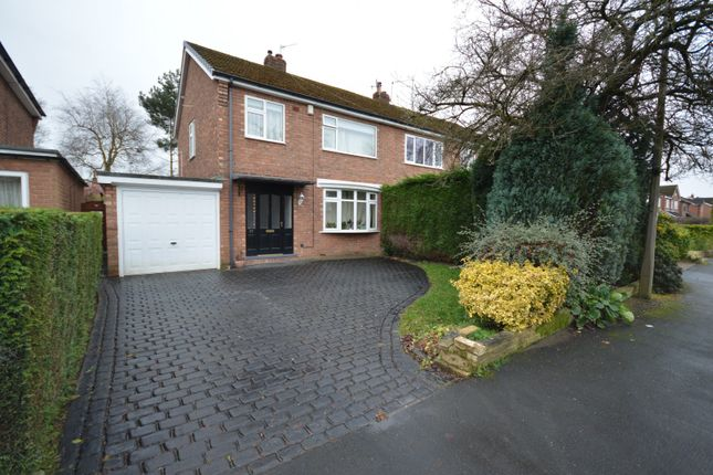 Thumbnail Semi-detached house to rent in Thornway, Bramhall, Stockport