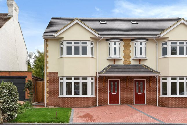 Thumbnail Semi-detached house for sale in Heathcote Grove, Chingford, London