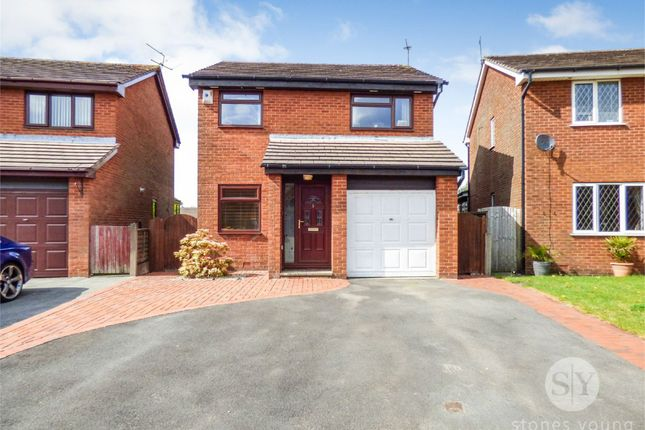 Thumbnail Detached house for sale in Ottawa Close, Blackburn, Lancashire