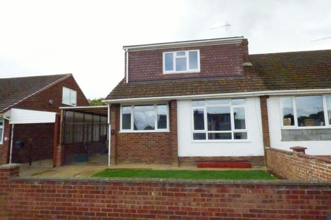 Thumbnail Semi-detached house to rent in Thirlestane Crescent, Northampton
