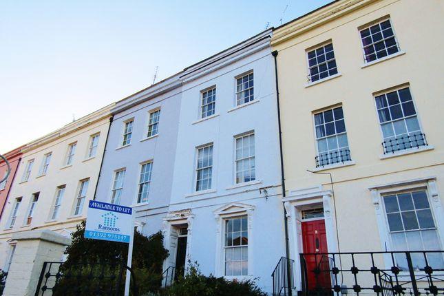 Thumbnail Flat to rent in Lansdowne Terrace, St Leonards - Exeter