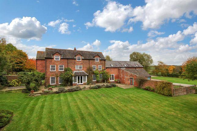 Thumbnail Farmhouse for sale in Newton Lane, Odstone, Warwickshire