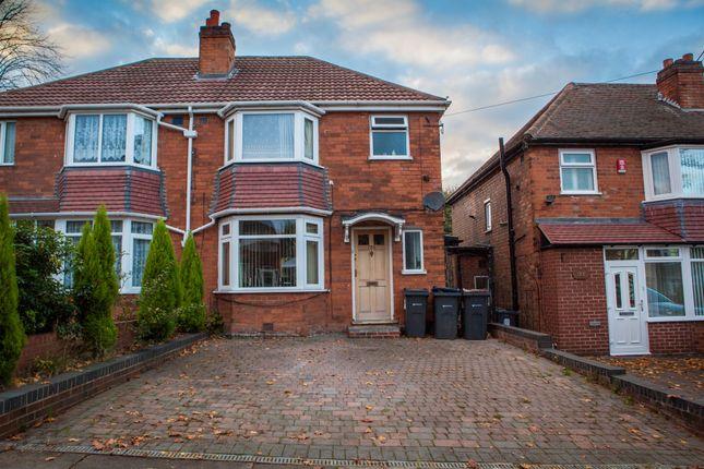 Thumbnail Semi-detached house for sale in Bleak Hill Road, Erdington, Birmingham