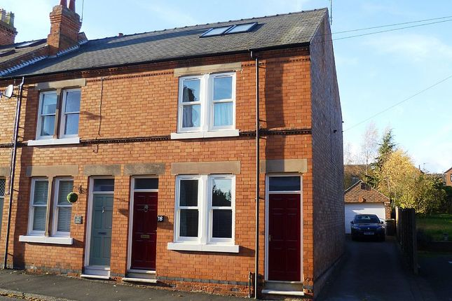 Thumbnail End terrace house for sale in Victoria Street, Melbourne, Derby, Derbyshire