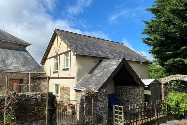 Thumbnail Detached house to rent in Honeychurch, North Tawton