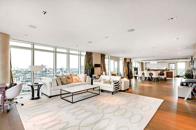 Thumbnail Flat for sale in Ascensis Tower, Battersea Reach, Juniper Drive
