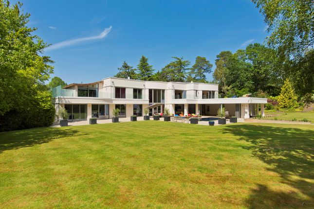 Thumbnail Detached house for sale in Lion Hill, West Road, St George's Hill, Weybridge, Surrey