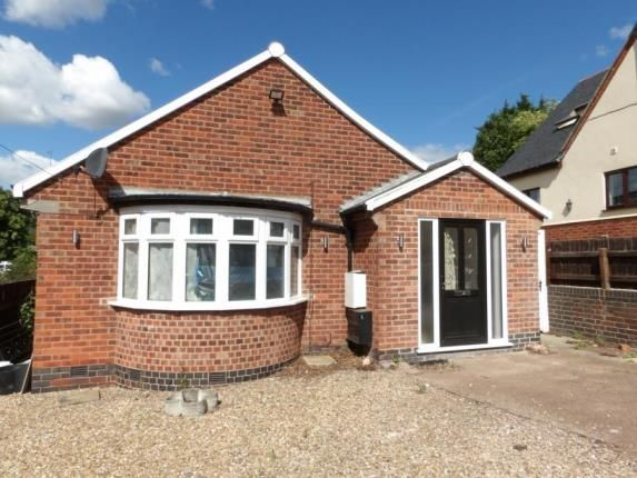 Thumbnail Bungalow for sale in Roman Road, Birstall, Leicestershire
