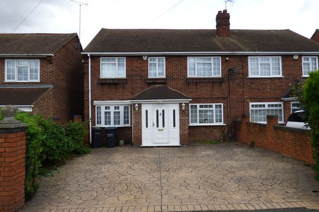 Thumbnail Semi-detached house to rent in Rochester Road, Gravesend