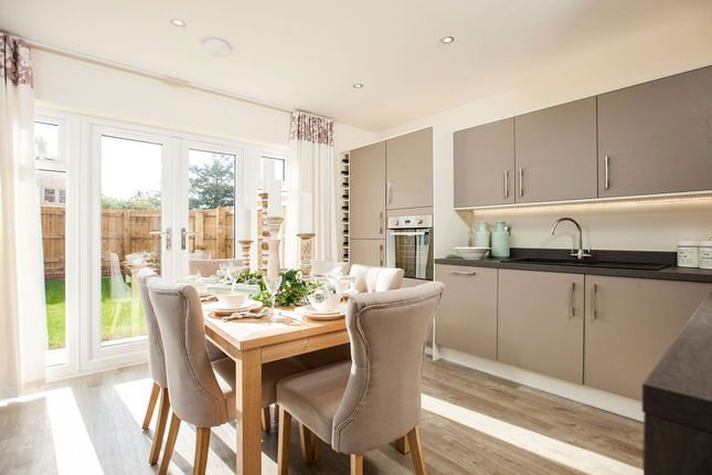 """Thumbnail End terrace house for sale in """"The Holnicote"""" at Epsom Avenue, Towcester"""