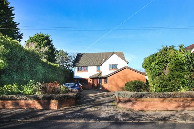 Thumbnail Detached house for sale in Hollybush Road, Cardiff