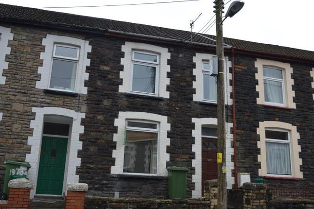 Thumbnail Terraced house to rent in Tower Street, Treforest, Pontypridd, Rhondda Cynon Taff