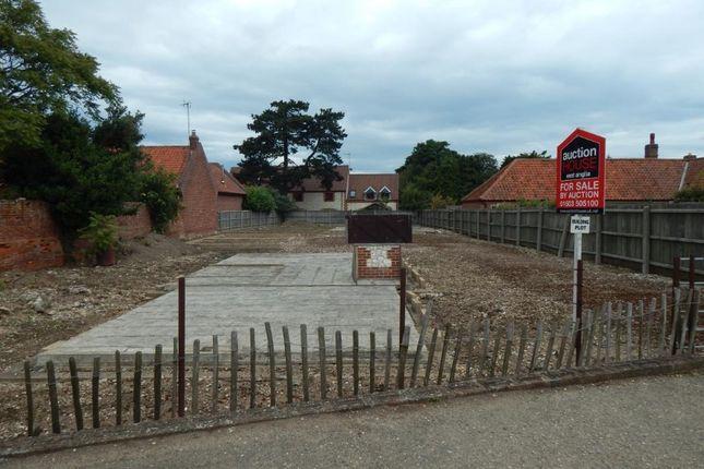 Thumbnail Land for sale in Land Adj. The Orange Tree, High Street, Thornham, Hunstanton