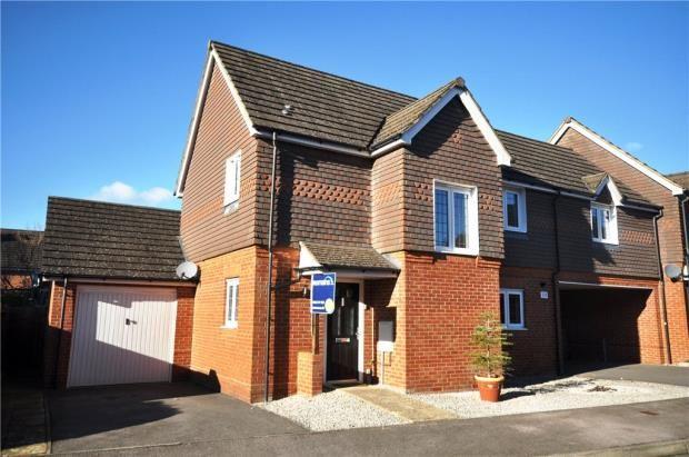 Thumbnail Link-detached house for sale in Rycroft Meadow, Beggarwood, Basingstoke