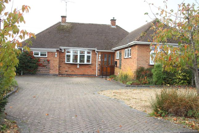 Thumbnail Detached bungalow for sale in The Fairway, Burbage, Hinckley