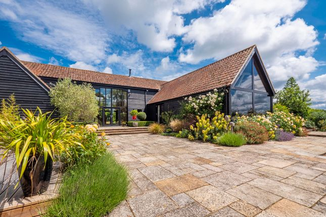 Thumbnail Barn conversion for sale in Creeting St Peter, Stowmarket, Suffolk