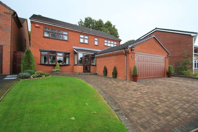 Thumbnail Detached house for sale in Holder Drive, Cannock