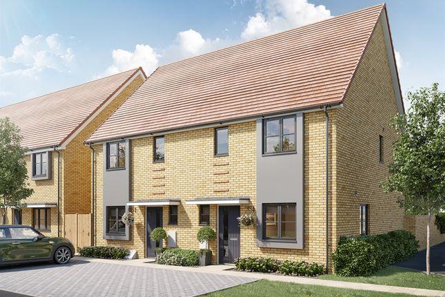 "Thumbnail Semi-detached house for sale in ""The Linton"" at Otterham Quay Lane, Rainham, Gillingham"