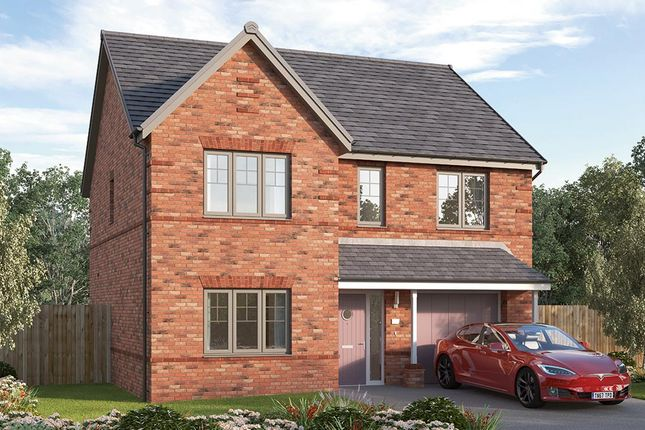 "Thumbnail Detached house for sale in ""The Sudbury"" at Pennyfine Road, Sunniside, Newcastle Upon Tyne"