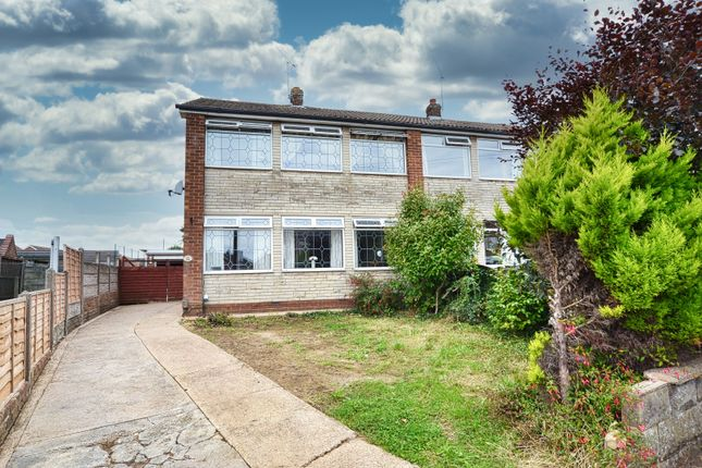 Thumbnail Semi-detached house for sale in Copse Road, Scunthorpe