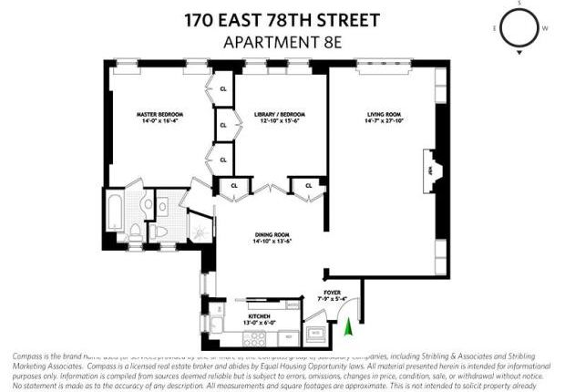 Picture No. 08 of East 78th Street Unit 8E, New York, Ny, 10075