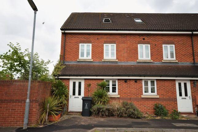 Thumbnail End terrace house for sale in Pavilion Close, Town Centre Area, Swindon