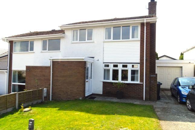 3 bed semi-detached house for sale in Ffordd Gwenllian, Llanfairpwll, Ynys Mon LL61