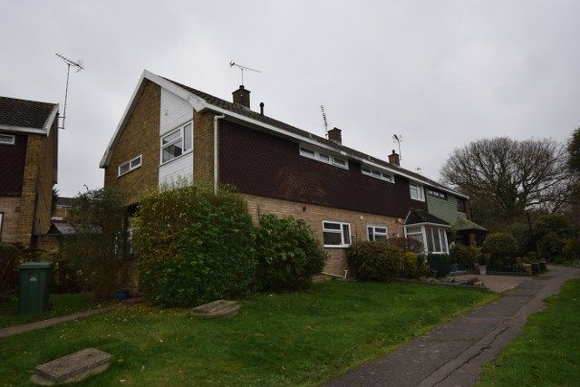 Thumbnail End terrace house for sale in Renacres, Lee Chapel South