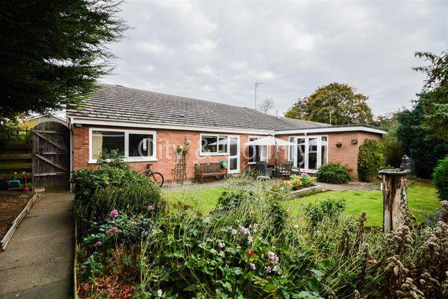 Thumbnail Detached bungalow for sale in Hardwick Court, Longthorpe, Peterborough