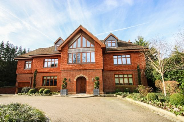 Thumbnail Detached house to rent in Harebell Hill, Cobham, Surrey
