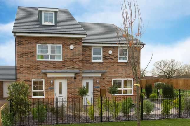 """Thumbnail End terrace house for sale in """"Kingsville"""" at The Long Shoot, Nuneaton"""