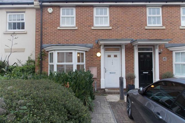 Thumbnail Terraced house to rent in Reed Court, Greenhithe