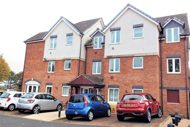 External of Grangeside Court, Brabourne Gardens, North Shields NE29
