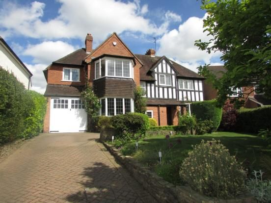 Thumbnail Detached house to rent in Park Avenue, Solihull, West Midlands
