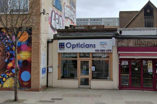 Thumbnail Retail premises for sale in Bohemia Place, Mare Street, London