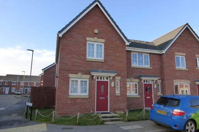Thumbnail End terrace house to rent in Taurus Avenue, North Hykeham, Lincoln