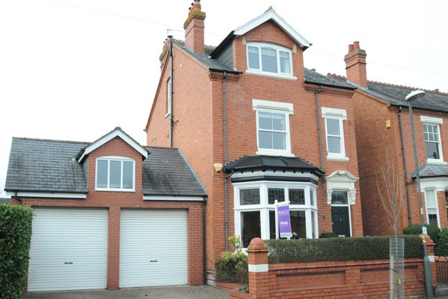 Thumbnail Detached house for sale in Victoria Avenue, Droitwich, Worcestershire