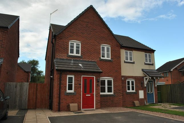 Thumbnail Semi-detached house to rent in Mill Park, Whitchurch, Shropshire